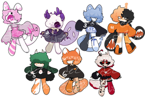 open - mixed adopts