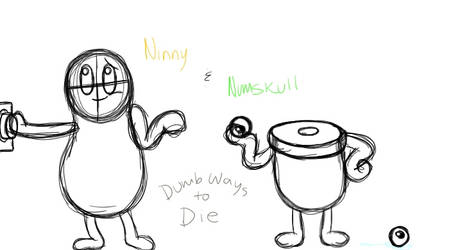 Ninny and Numskull  by Mooncalf543