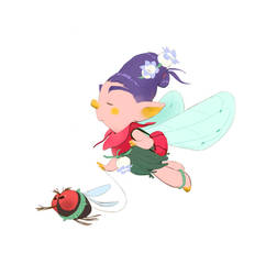 Fairy With Fly