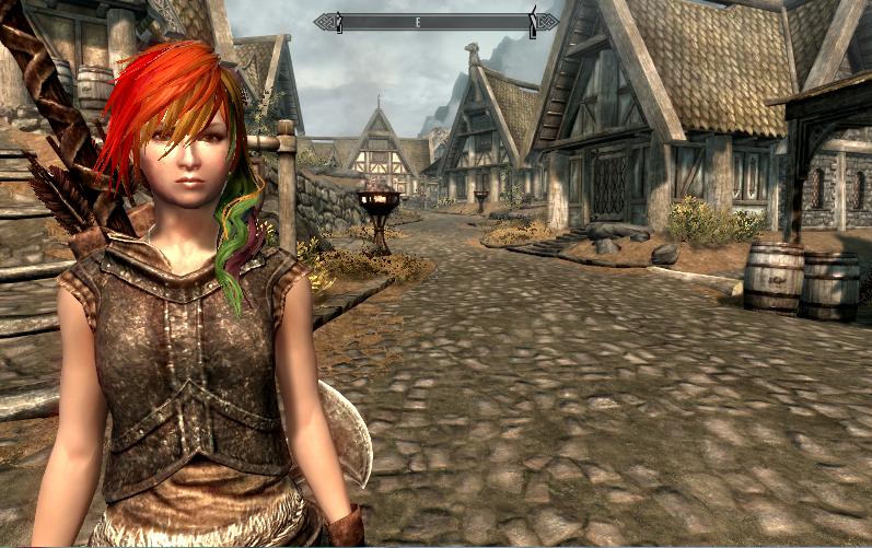 Skyrim final fantasy hair mods