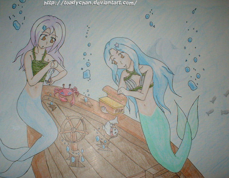 Thieving Mermaids by Toadychan