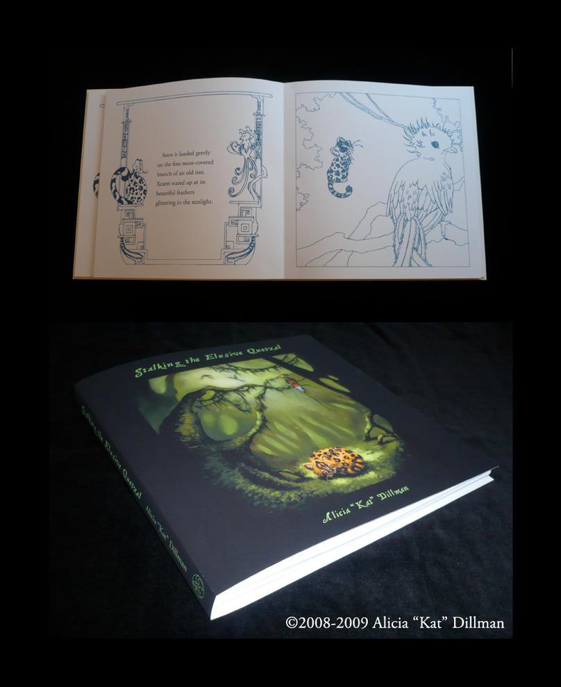 Quetzal Book Dummy old version by KatGirlStudio