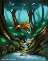 Forest Frolic by KatGirlStudio