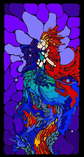 Phoenix-Water Nymph 3 by KatGirlStudio