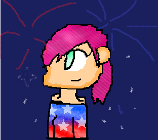 Happy  4Th of July!!!! (a bit late XD ) by julie7507