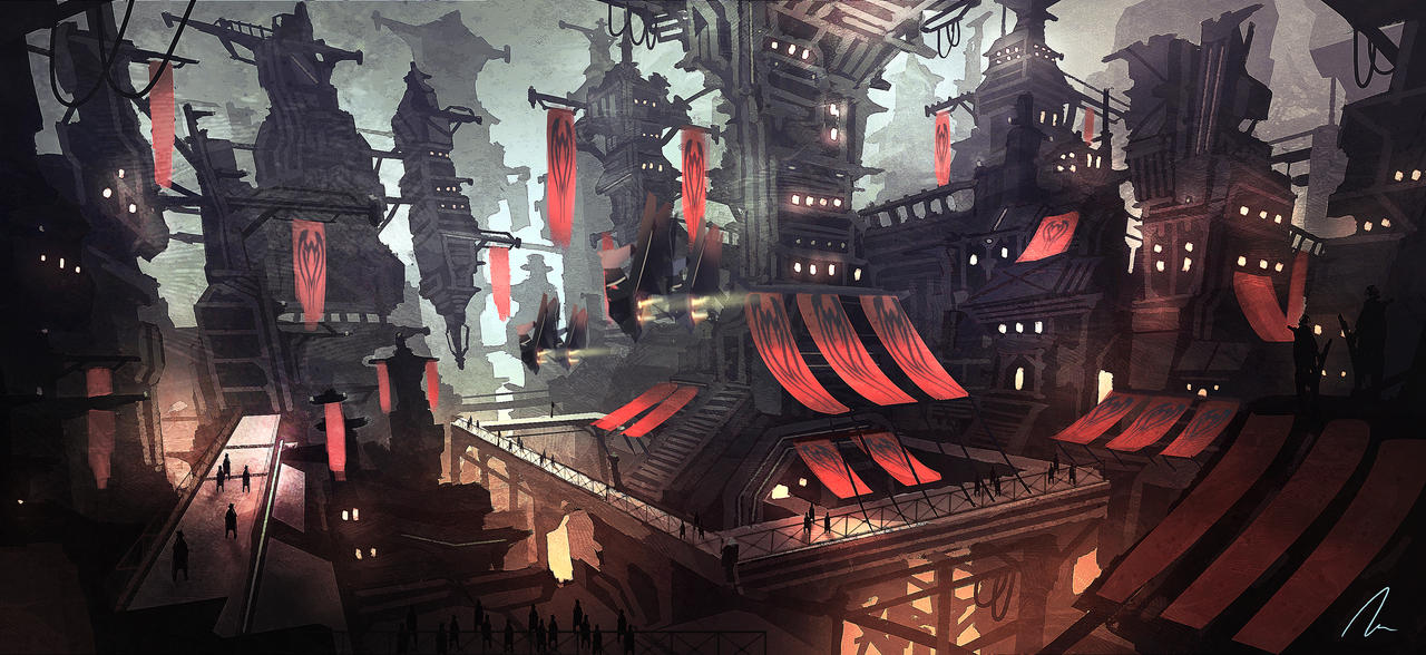 City 2159 by nigelhimself