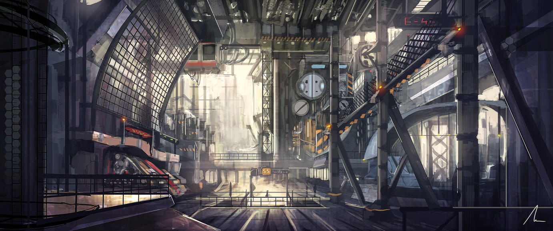 Industrial District by nigelhimself