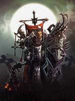 Diablo 3 Reaper of Soul Crusader by nigelhimself