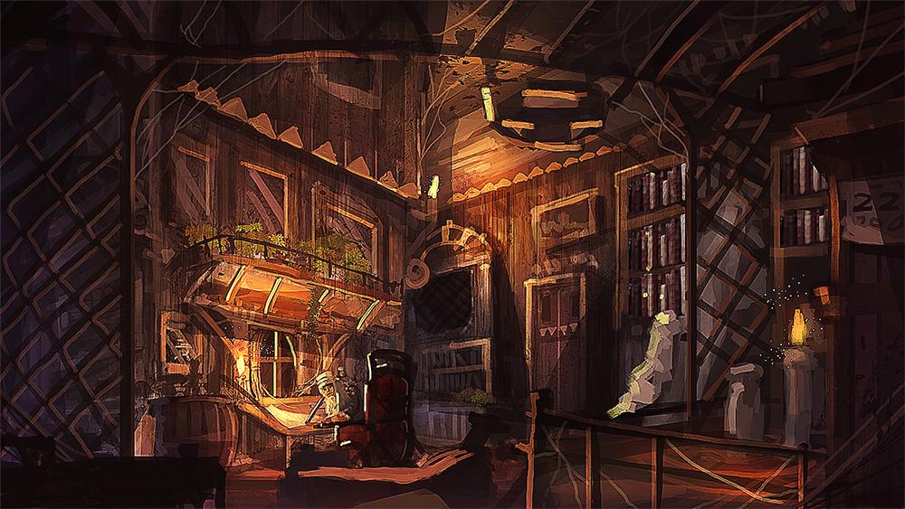 study room by nigelhimself