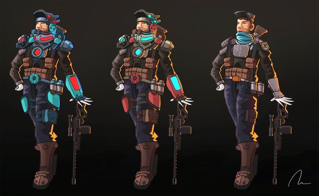 snipers by nigelhimself