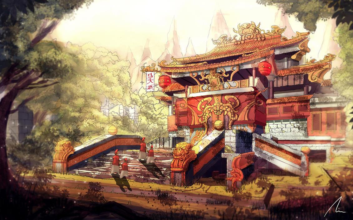 Lost Temple by nigelhimself
