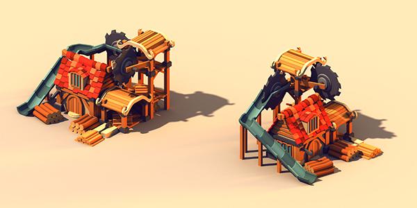 lumber mill by nigelhimself