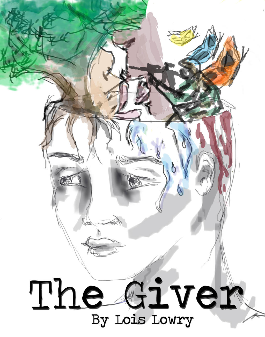 the giver book report characters