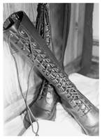 B is for Boots by enchantedone