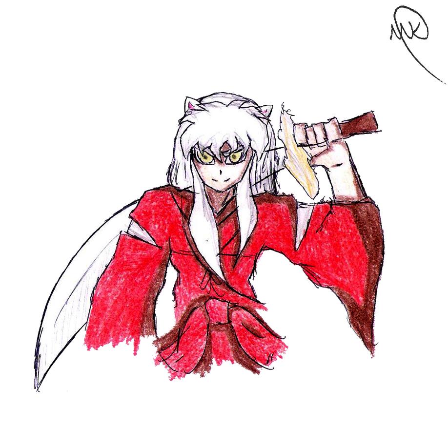 Christmas Doodle 11 - Inuyasha by MaruanKaled on DeviantArt