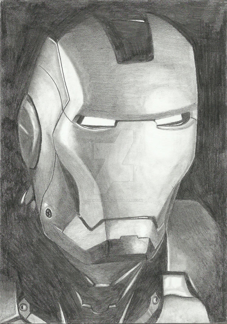 Iron Man by Nientjesweb