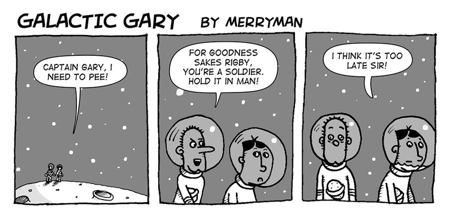 Galactic Gary 9 by MerrymanComics