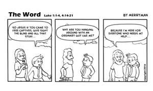 The Word 4 by MerrymanComics