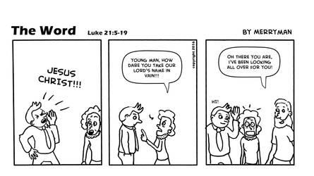 The Word 47 by MerrymanComics