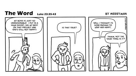 The Word 48 by MerrymanComics