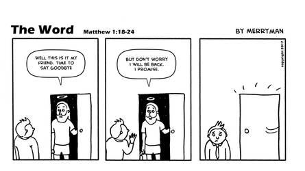 The Word 52 by MerrymanComics
