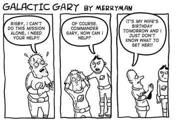 Galactic Gary 18 by MerrymanComics