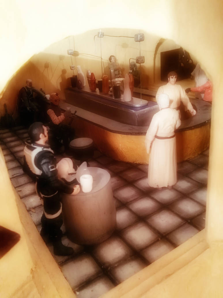 Mos Eisley Diorama 1 by MerrymanComics