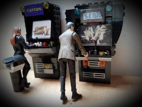 Dr Who + Lego + Classic Arcade Games =