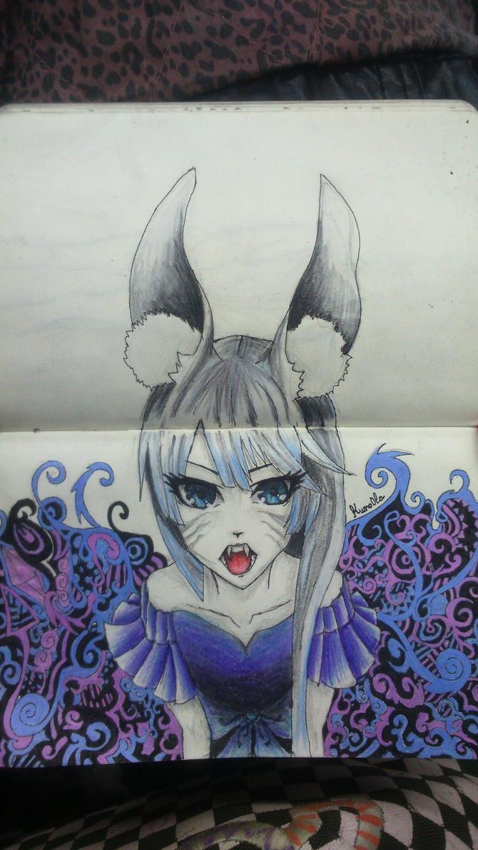 Kitsune :3 by Kwno0la