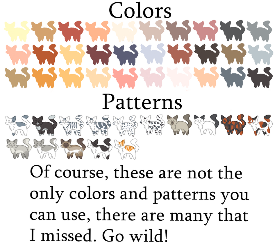 Cat Color Patterns Best Ideas