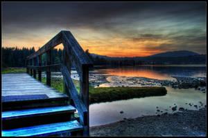 Blue steps by Zapa3a