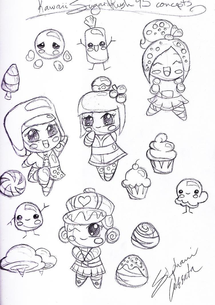 kawaii coloring pages mamegoma images - photo#13