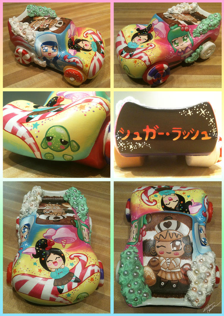 Vinylmation 95 Sugar Rush Racer Custom by StephanieCassataArt