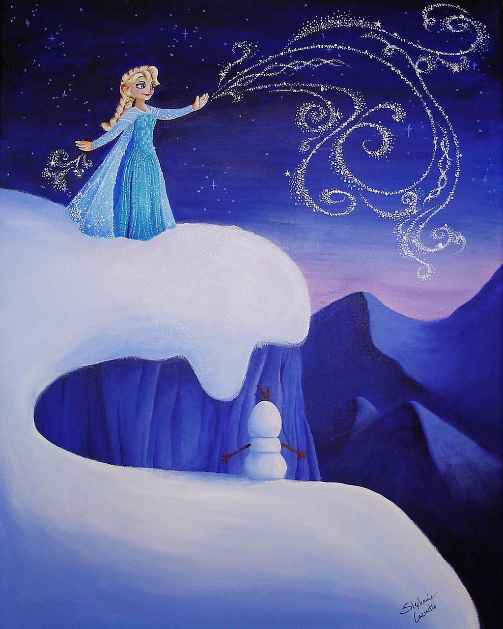 Let it Go by StephanieCassataArt