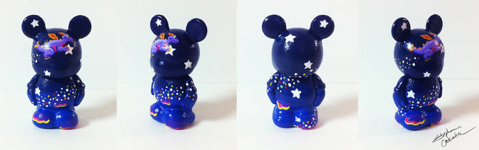 Vinylmation Jr. 1 1/2'' Twinkle Figment Custom by StephanieCassataArt