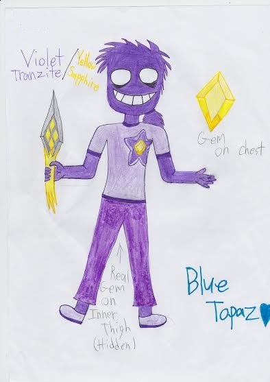 Crystal Night Guards- Purple Guy (Vincent) by Vampgurl449