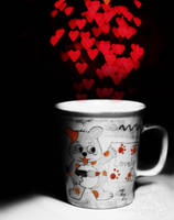 a cup of hearts by purplerainistaken