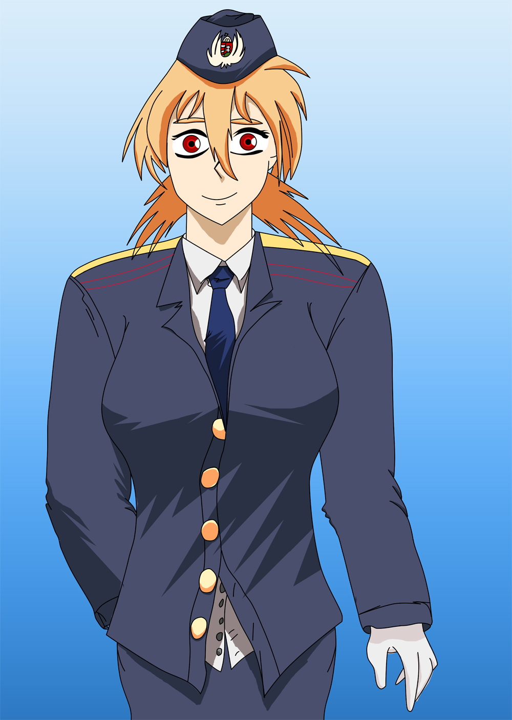 Seras Victoria in Uniform by dani0001