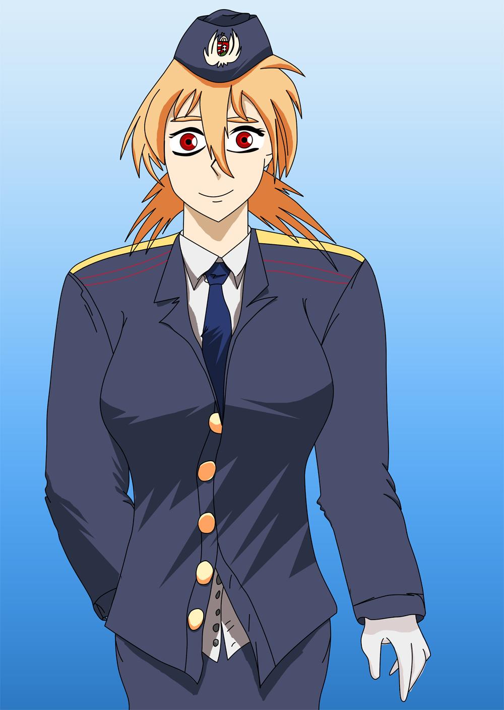 Seras Victoria in Uniform by dani0001