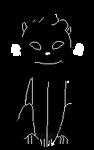 f2u black cat pixel by knifekid