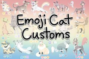 Emoji Cat Adopt Customs - CLOSED