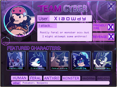 Art Fight 2021 Profile: Team Cyberpunk
