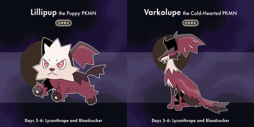 CLOSED - Faketober Day 5-6: Lycanthrope Bloodsucke