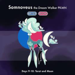 CLOSED - Faketober Day 9-10: Moon Tarot