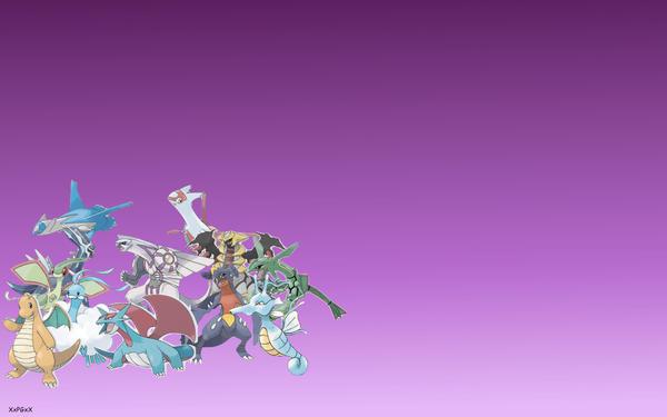 Pokemon: Dragon-Type Wallpaper by XxPokemonGiveawaysxX on ...