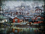 Porvoo Town (with GIF)