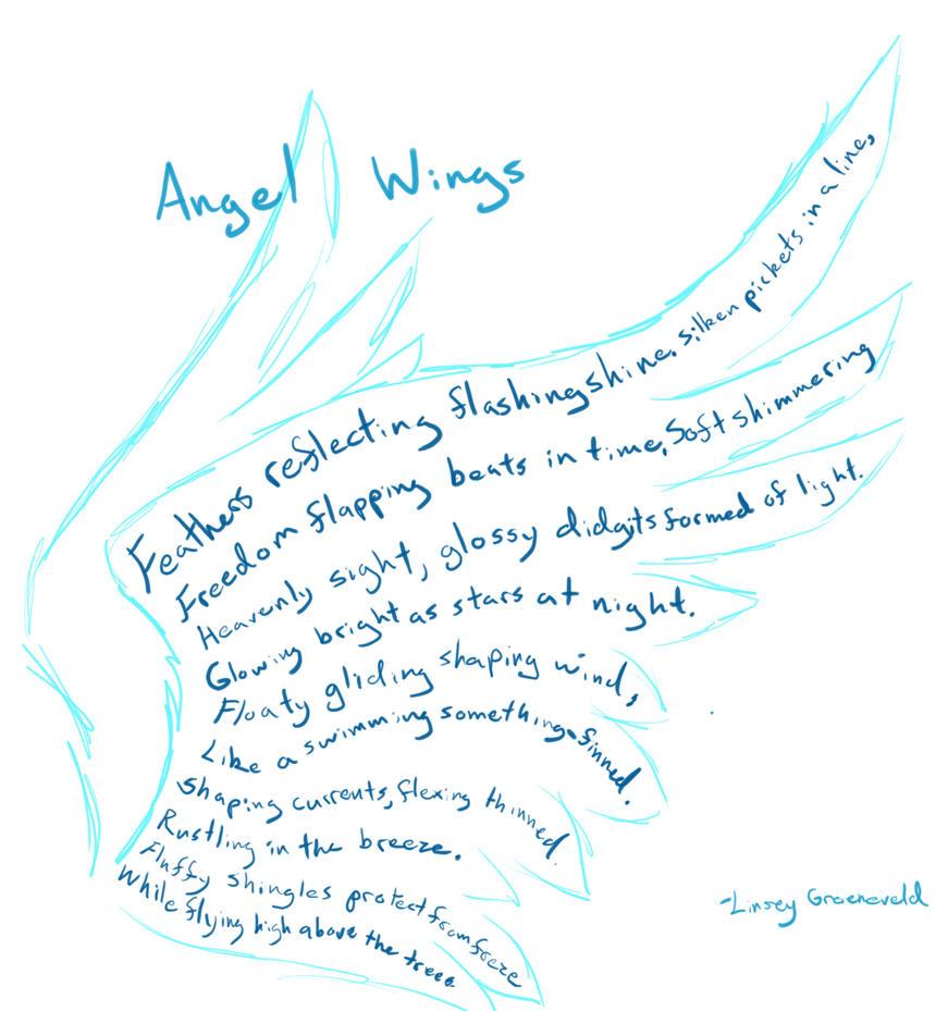 Angel Wings Poem by aquabluejay on DeviantArt