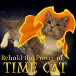 Time Cat icon by aquabluejay