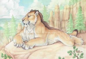 Pleistocene King by Goldenwolf