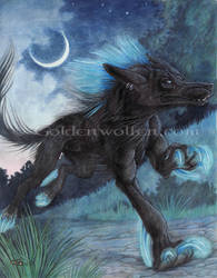 Maxx - Blue Streak by Goldenwolf